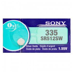 Pin SR512SW-335 Sony vỉ 1 viên