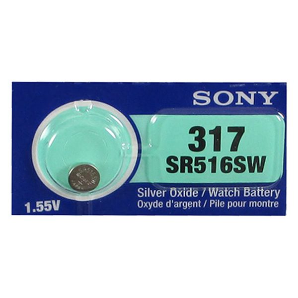 Pin SR516SW-317 Sony vỉ 1 viên