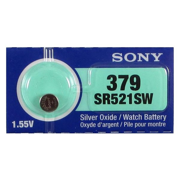 Pin SR521SW-379 Sony vỉ 1 viên