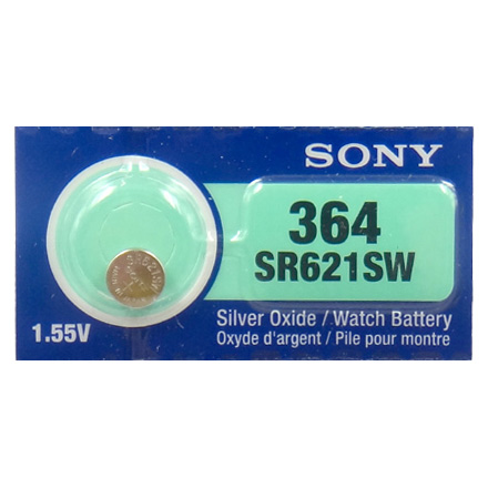 Pin SR621SW-364 Sony vỉ 1 viên