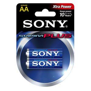 Pin AA Sony Stamina Plus vỉ 2 viên