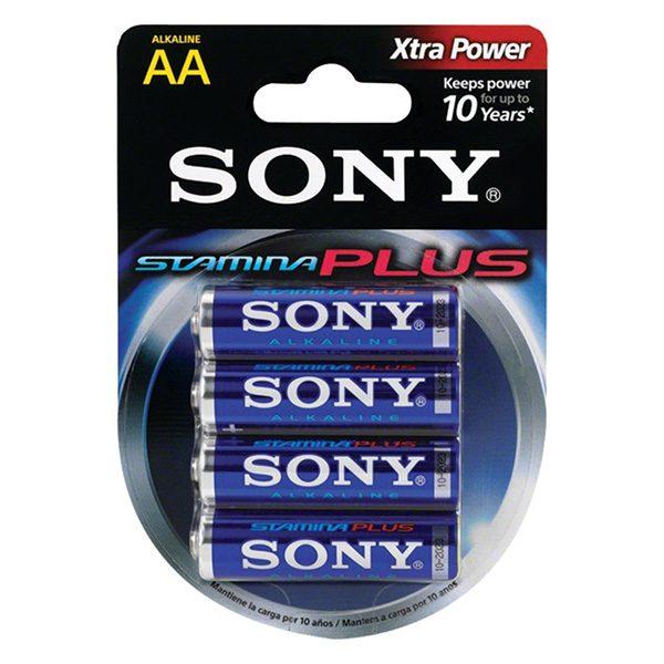 Pin AA Sony Stamina PLus vỉ 4 viên