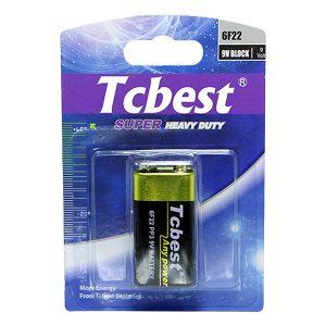 Pin 9V Tcbest Carbon vỉ 1 viên
