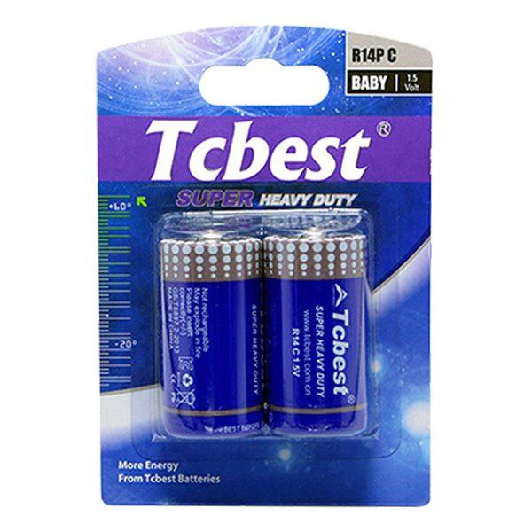 Pin trung Tcbest C Carbon vỉ 2 viên