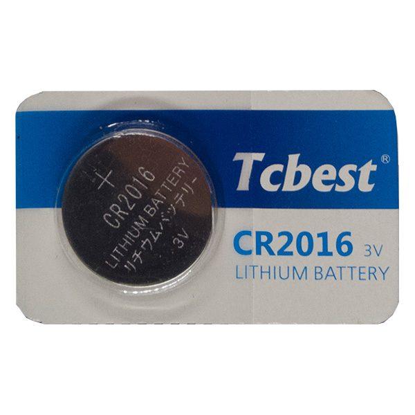 Pin CR2016 Tcbest 3V vỉ 1 viên