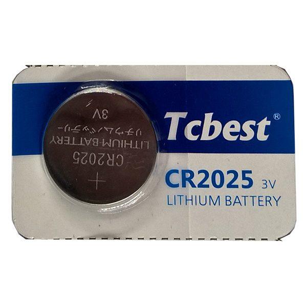 Pin CR2025 Tcbest 3V vỉ 1 viên