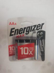 pin aa energizer e91bp4