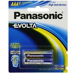 Pin panasonic aaa evolta LR03EG/2B