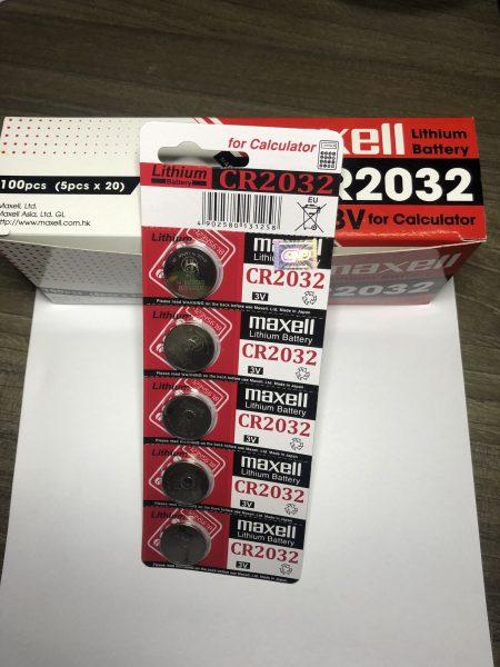 pin maxell cr2032 chính hãng